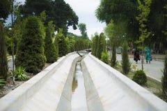 Ο κολπίσκος στο πάρκο Στοκ Φωτογραφίες