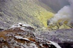 ο κρατήρας Στοκ φωτογραφία με δικαίωμα ελεύθερης χρήσης