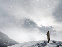 Ο κρύος καιρός δεν είναι ο λόγος στοκ φωτογραφίες