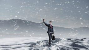 Ο κρύος καιρός δεν είναι ο λόγος στοκ εικόνες με δικαίωμα ελεύθερης χρήσης