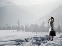 Ο κρύος καιρός δεν είναι ο λόγος στοκ φωτογραφία με δικαίωμα ελεύθερης χρήσης