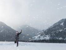 Ο κρύος καιρός δεν είναι ο λόγος στοκ εικόνες