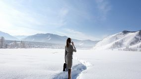 Ο κρύος καιρός δεν είναι ο λόγος στοκ φωτογραφία