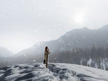 Ο κρύος καιρός δεν είναι ο λόγος στοκ εικόνα