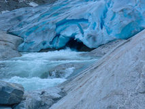Ο κρύος ποταμός Στοκ φωτογραφίες με δικαίωμα ελεύθερης χρήσης