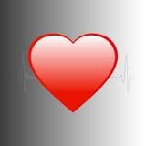Ο κτύπος της καρδιάς Στοκ φωτογραφίες με δικαίωμα ελεύθερης χρήσης