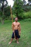 Ο κυνηγός, συσκευές κυνηγιού στοκ φωτογραφία με δικαίωμα ελεύθερης χρήσης