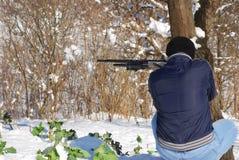 Ο κυνηγός στοκ φωτογραφία με δικαίωμα ελεύθερης χρήσης