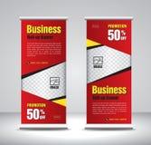 Ο κόκκινος ρόλος επάνω στο διάνυσμα προτύπων εμβλημάτων, έμβλημα, στάση, σχέδιο έκθεσης, διαφήμιση, σηκώνουν, το σχεδιάγραμμα Χ-ε διανυσματική απεικόνιση