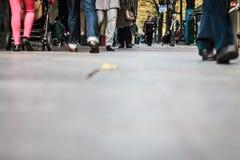 Ο κόσμος στην πόλη Στοκ φωτογραφίες με δικαίωμα ελεύθερης χρήσης