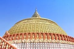 Ο κόσμος Thidagu που το βουδιστικό πανεπιστήμιο, αυτό είναι διεθνές βουδιστικό κέντρο εκπαίδευσης είναι διάσημοι πανεπιστήμιο και στοκ εικόνες