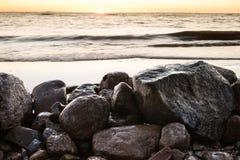 Ο Κόλπος της Φινλανδίας τον πρώιμο χειμώνα Στοκ φωτογραφίες με δικαίωμα ελεύθερης χρήσης