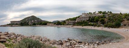 Ο κόλπος των εγκαταλειμμένων ξενοδοχείων στοκ φωτογραφία με δικαίωμα ελεύθερης χρήσης
