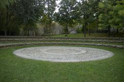 Ο κύκλος Στοκ εικόνα με δικαίωμα ελεύθερης χρήσης