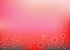Ο κύκλος σε ένα κόκκινο υπόβαθρο Στοκ εικόνα με δικαίωμα ελεύθερης χρήσης