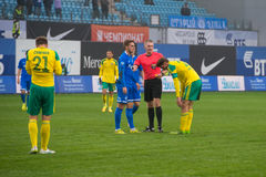 Ο κύριος διαιτητής στη δράση Στοκ εικόνα με δικαίωμα ελεύθερης χρήσης