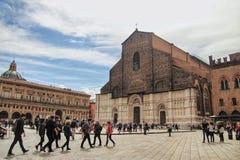 Ο κύριος καθεδρικός ναός της Μπολόνιας, Ιταλία στοκ φωτογραφίες με δικαίωμα ελεύθερης χρήσης