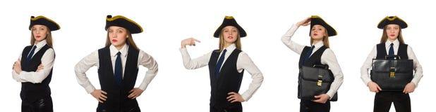 Ο κύριος πειρατής γυναικών Στοκ Εικόνα