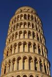 Ο κλίνοντας πύργος της Πίζας/ο πύργος της Πίζας στοκ εικόνες με δικαίωμα ελεύθερης χρήσης