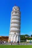 Ο κλίνοντας πύργος της Πίζας στην Πίζα, Τοσκάνη, Ιταλία στοκ φωτογραφίες