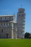 Ο κλίνοντας πύργος της Πίζας (Τοσκάνη, Ιταλία) Στοκ Εικόνες