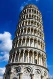 Ο κλίνοντας πύργος του Di Πίζα της Πίζας Torre pendente στην Πίζα, Ιταλία Στοκ Εικόνες