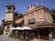 Ο κλίνοντας πύργος του Tbilisi. Στοκ Εικόνα