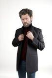 Ο κ. Επιθετικότητα IceMan, άτομο μόδας πλεκτός Στοκ Φωτογραφίες