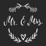 Ο κ. & κα Και, ampersand σύμβολο γάμος νεόνυμφων εκκλησιών τελετής νυφών γαμήλιες λέξεις Στοκ φωτογραφία με δικαίωμα ελεύθερης χρήσης