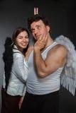 Ο κ. Angel και κα Angel Στοκ Εικόνα