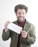 Ο κ. IceMan, χαμογελώντας άτομο με μια γενειάδα, μια γενειάδα Στοκ φωτογραφία με δικαίωμα ελεύθερης χρήσης
