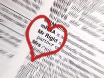 ο κ. right Στοκ εικόνες με δικαίωμα ελεύθερης χρήσης