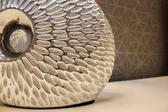 Ο λαμπτήρας χάλυβα για το φωτισμό, φωτίζει το λαμπτήρα Στοκ Εικόνες