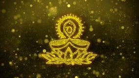 Ο λαμπτήρας diya Deepak επιθυμεί την κάρτα χαιρετισμών, πρόσκληση, πυροτέχνημα εορτασμού ελεύθερη απεικόνιση δικαιώματος