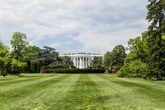 Ο Λευκός Οίκος από το νότιο χορτοτάπητα στοκ φωτογραφία με δικαίωμα ελεύθερης χρήσης