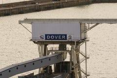 Ο λιμένας Ντόβερ στο Κεντ Ηνωμένο Βασίλειο στοκ εικόνες