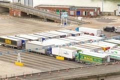 Ο λιμένας Ντόβερ στο Κεντ Ηνωμένο Βασίλειο στοκ φωτογραφίες με δικαίωμα ελεύθερης χρήσης