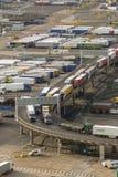 Ο λιμένας Ντόβερ στο Κεντ Ηνωμένο Βασίλειο στοκ εικόνα με δικαίωμα ελεύθερης χρήσης