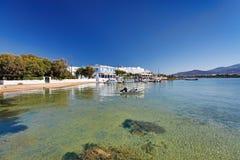 Ο λιμένας του νησιού Antiparos, Ελλάδα Στοκ Εικόνα