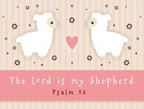 Ο Λόρδος Is My Shepherd απεικόνιση αποθεμάτων