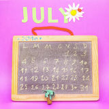 Ο μήνας Ιουλίου στοκ εικόνες