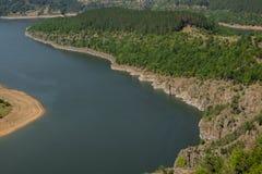 Ο μαίανδρος του ποταμού Arda Στοκ Εικόνες