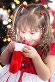 Ο μαγικός των Χριστουγέννων Στοκ εικόνες με δικαίωμα ελεύθερης χρήσης