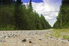 Ο μακρύς και (καθόλου) δρόμος με πολλ'ες στροφές Στοκ φωτογραφία με δικαίωμα ελεύθερης χρήσης