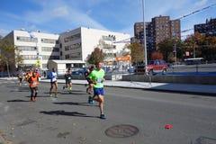 Ο μαραθώνιος 142 πόλεων της Νέας Υόρκης του 2014 Στοκ φωτογραφίες με δικαίωμα ελεύθερης χρήσης