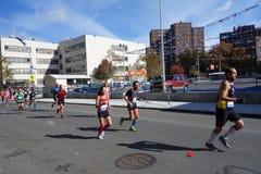 Ο μαραθώνιος 151 πόλεων της Νέας Υόρκης του 2014 Στοκ φωτογραφίες με δικαίωμα ελεύθερης χρήσης