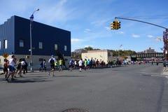Ο μαραθώνιος 281 πόλεων της Νέας Υόρκης του 2014 Στοκ Εικόνα