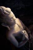 Ο μαρμάρινος Βούδας Στοκ Φωτογραφίες
