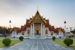Ο μαρμάρινος ναός αποκαλούμενος Wat Ben Στοκ Εικόνες