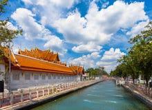Ο μαρμάρινος ναός Wat Benchamabopit Στοκ εικόνα με δικαίωμα ελεύθερης χρήσης